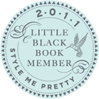 Style Me Pretty - 2011 Little Black Book Member